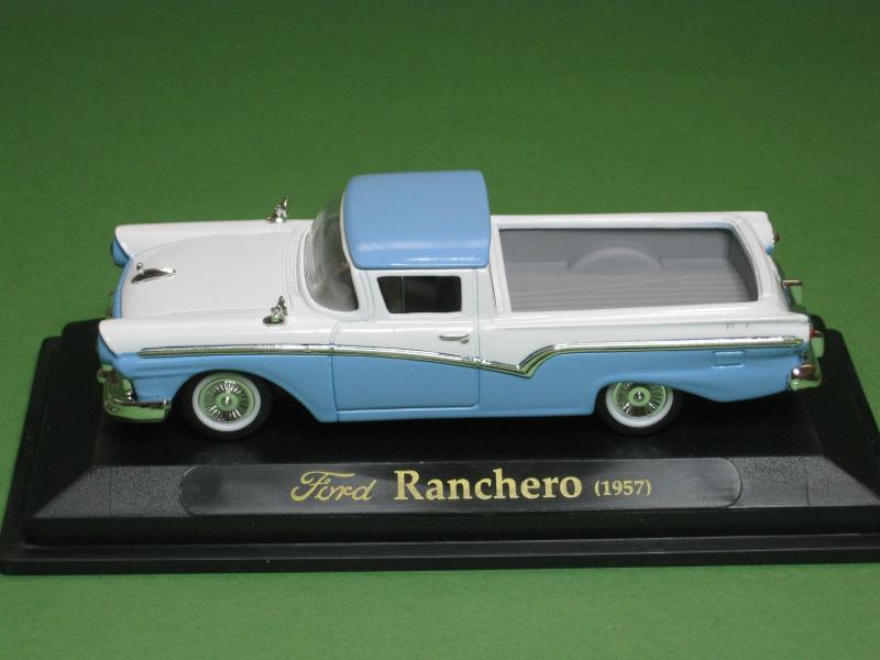 ford ranchero 1957 weiss blau yat ming road signature 1 43. Black Bedroom Furniture Sets. Home Design Ideas