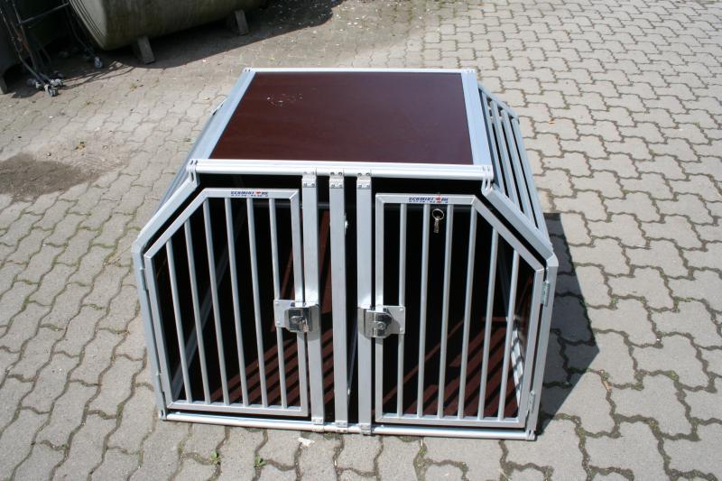 doppelbox hundebox transportbox schmidt hundetransportbox. Black Bedroom Furniture Sets. Home Design Ideas