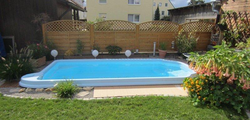 gfk fertig pool gfk schwimmbecken fehmarn mit kostenlosen transport ebay. Black Bedroom Furniture Sets. Home Design Ideas