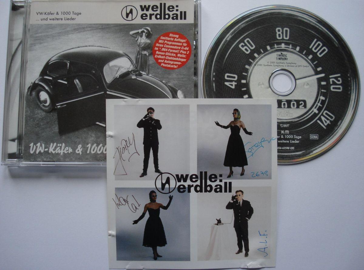 Welle: Erdball VW-Käfer and 1000 Tage