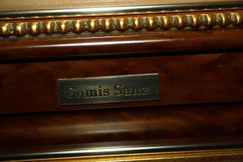 gem lde l auf holz blumen stillleben signiert gomis sanz gerahmt 834 ebay. Black Bedroom Furniture Sets. Home Design Ideas