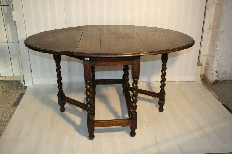 Antiker Esstisch Oval ~ Antiker englGateleg Tisch,Esstisch,Klapptisch oval massiv Eiche um1800 #41