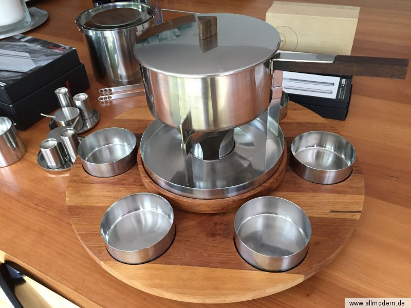allmodern lazy susan drehbrett stelton 6 bowls design arne jacobsen fondue ebay. Black Bedroom Furniture Sets. Home Design Ideas