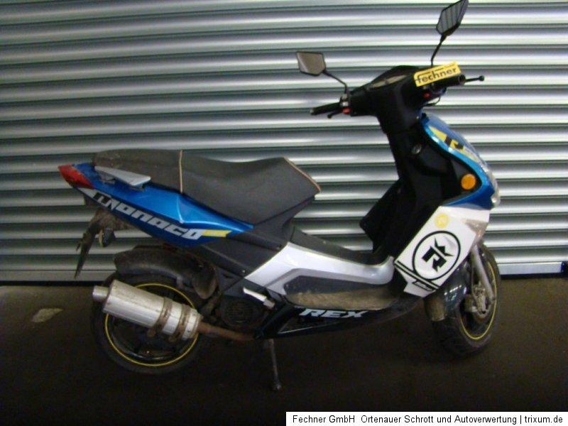 roller rex monaco 50 race motorroller 49ccm 2011. Black Bedroom Furniture Sets. Home Design Ideas