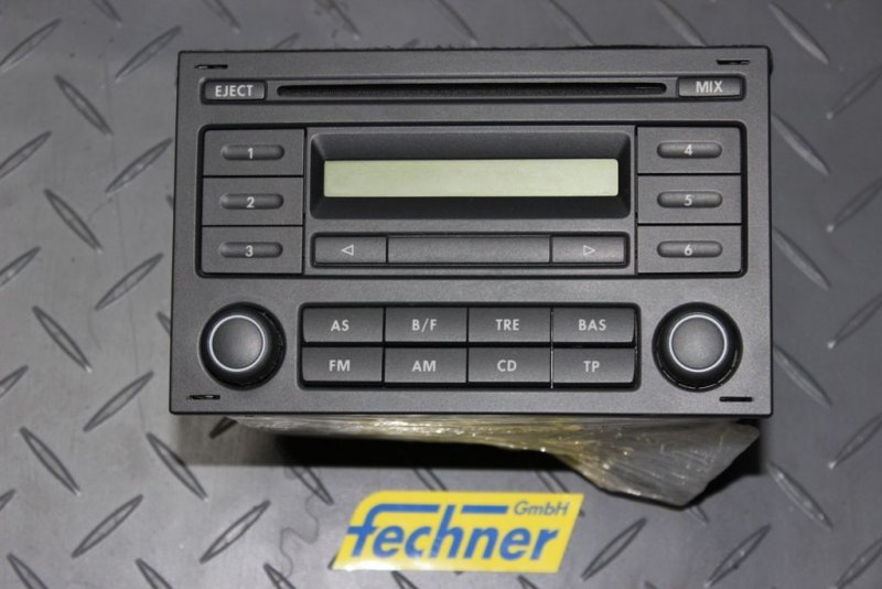 radio volkswagen vw fox 5z0035152 doppel din cd player. Black Bedroom Furniture Sets. Home Design Ideas