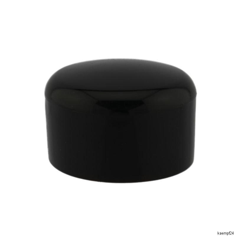 rohrkappe 47 48mm schwarz pvc witterungsbest ndig schutzkappen rohr kappen ebay. Black Bedroom Furniture Sets. Home Design Ideas