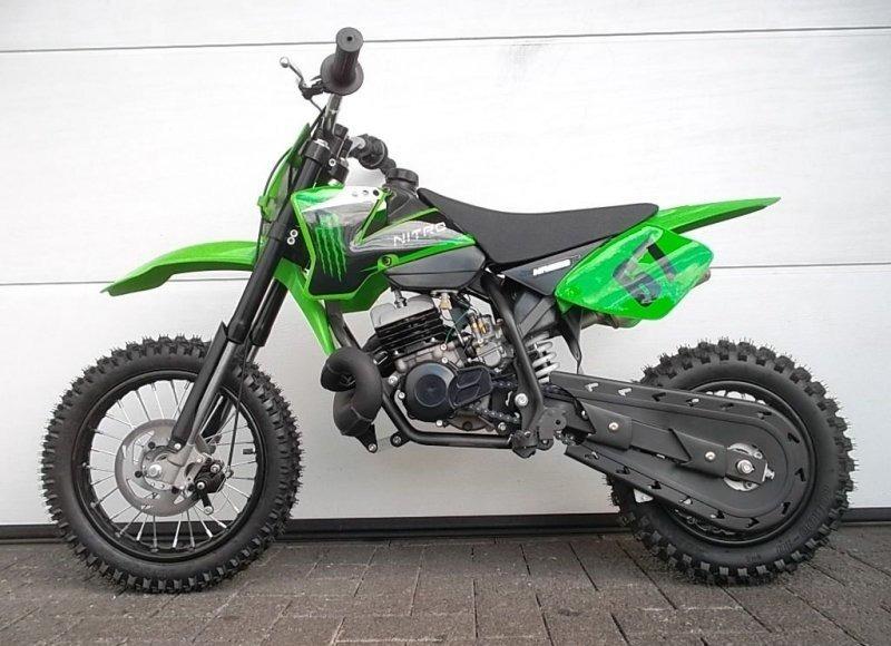 dirtbike pocket crossbike kinder motocross enduro kinder motorrad nrg 50 ebay. Black Bedroom Furniture Sets. Home Design Ideas