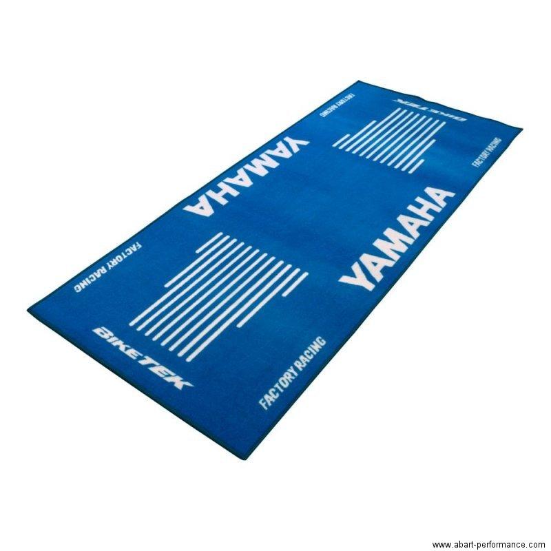 garagenmatte yamaha garagenteppich teppich matte werkstatt ausstellung messe ebay. Black Bedroom Furniture Sets. Home Design Ideas