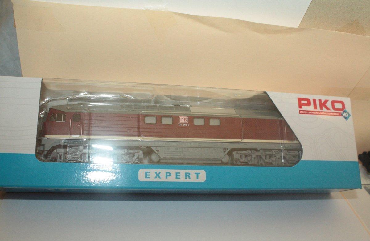 Piko 59742 Diesellok 231 040-7 DB AG Spur H0 - digital (D&H) mit Sound (Henning)