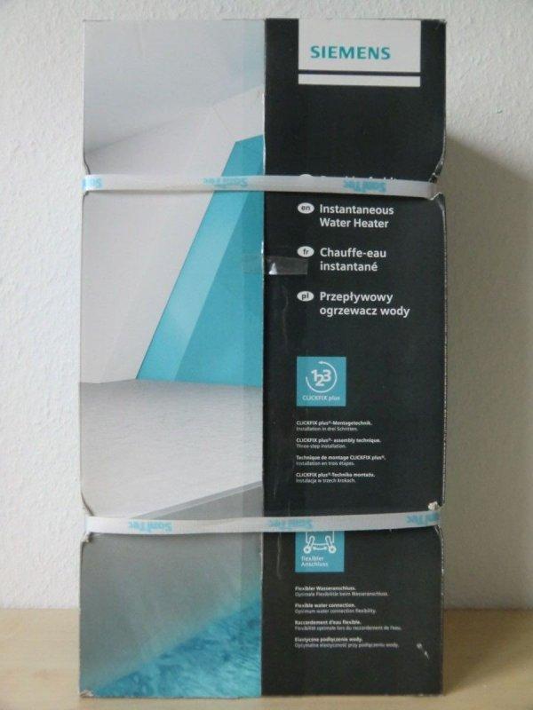 siemens elektronischer durchlauferhitzer de4061821 400v. Black Bedroom Furniture Sets. Home Design Ideas