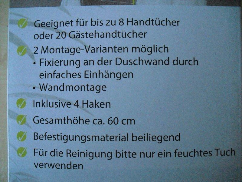 Ablage Dusche Glas : Handtuchhalter aus Glas mit Ablage / Bad / Dusche / 810224B eBay