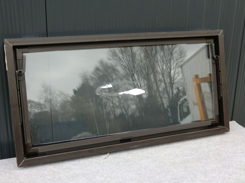 aco kellerfenster braun 1000 x 500 mm kippfenster fenster nebenraumfenster 82757 ebay. Black Bedroom Furniture Sets. Home Design Ideas