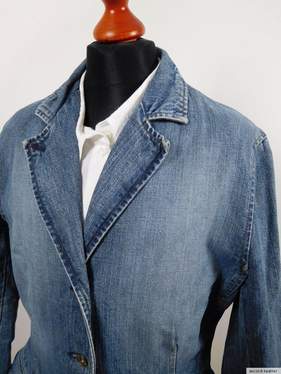 paul smith damen jeans jacke it 42 100 baumwolle. Black Bedroom Furniture Sets. Home Design Ideas