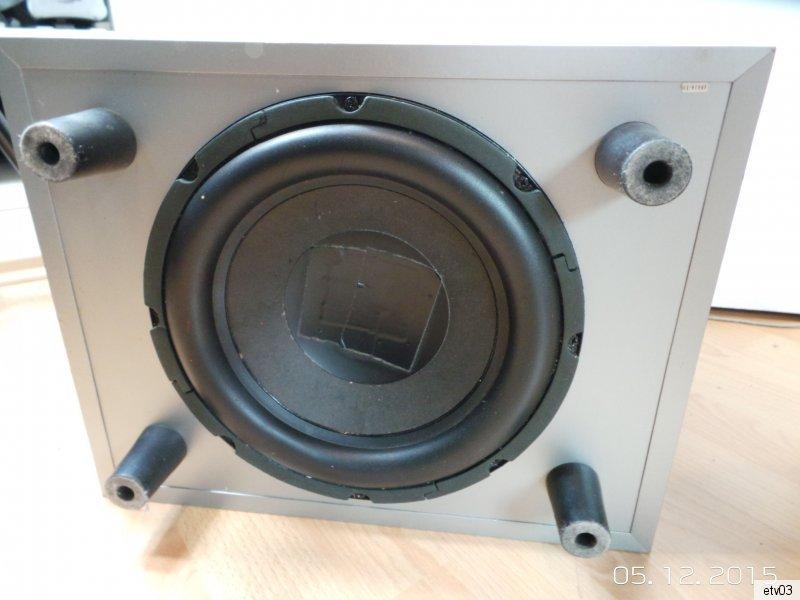 soundsystem teufel subwoofer e magnum 5 1 4x cem. Black Bedroom Furniture Sets. Home Design Ideas