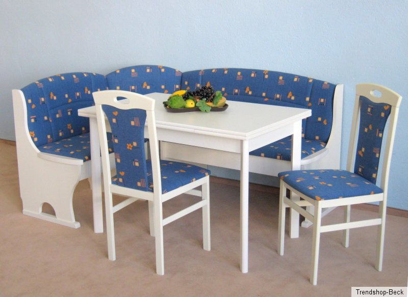 eckbankgruppe 4 tlg eckbank sitzgruppe st hle stuhl tisch esstisch essgruppe ebay. Black Bedroom Furniture Sets. Home Design Ideas