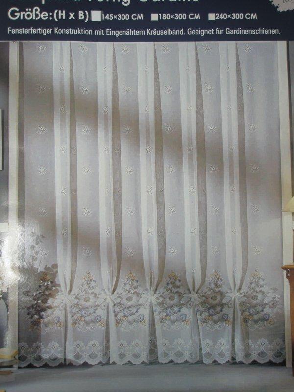 Gardinen Deko fertige gardinen mit kräuselband : GARDINE STORE VORHANG 145 X 300 MIT KRu00c4USELBAND FERTIG SOFORT ...