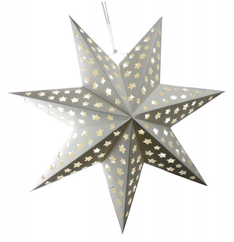 3d weihnachtsstern 45cm wei mit led beleuchtung adventsstern papierstern neu ebay. Black Bedroom Furniture Sets. Home Design Ideas