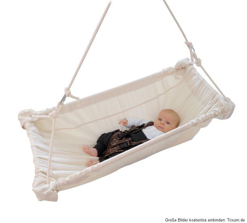 amazonas babywiege kaya natura h ngematte f rs baby wiege babyschaukel ebay. Black Bedroom Furniture Sets. Home Design Ideas