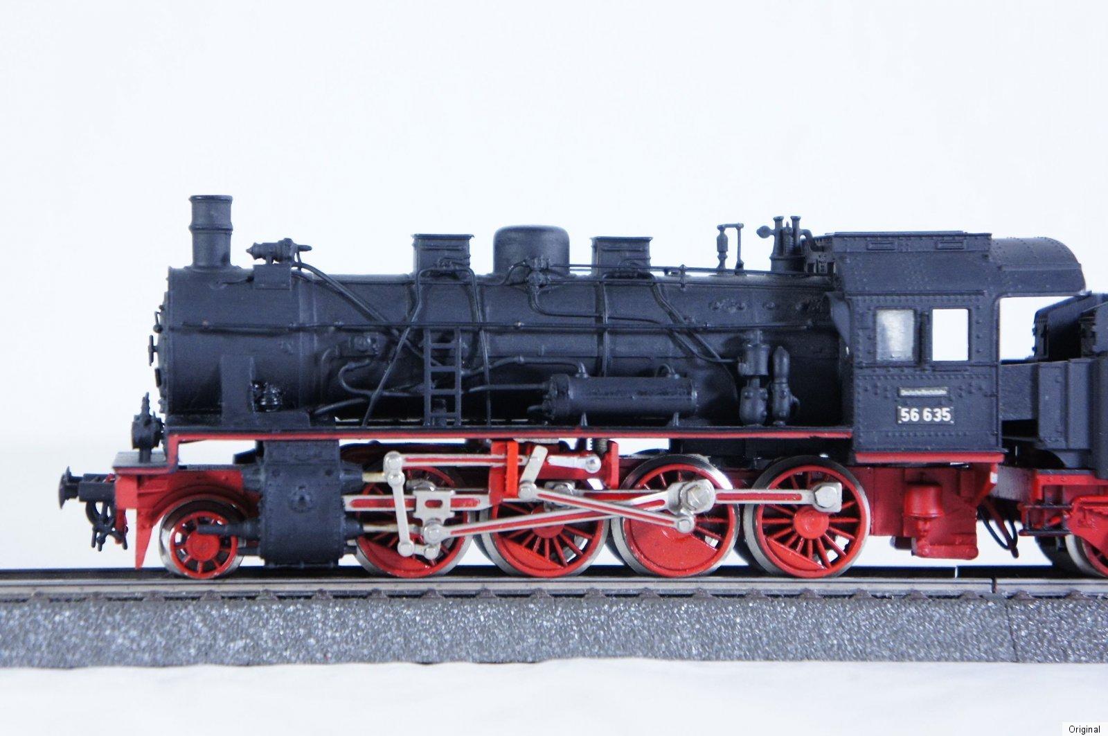 Fleischmann h0 dampflok 56 635 mit federpuffer for 56 635