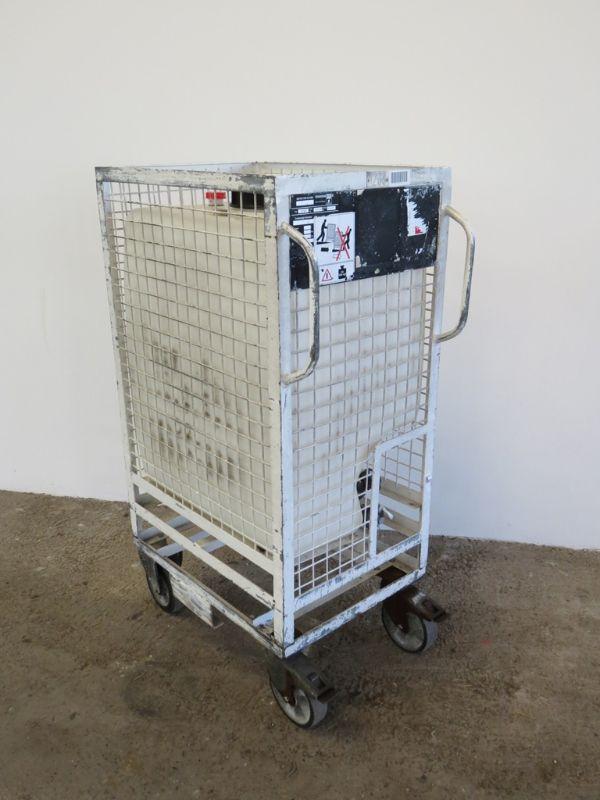 fahrbare gitterbox mit wassertank regenwassertank regenfass 300 l m ablasshahn ebay. Black Bedroom Furniture Sets. Home Design Ideas