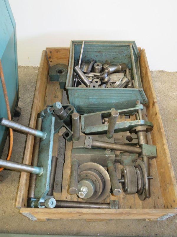 thoman maxi 2 biegemaschine rohrbiegemaschine rundbiegemaschine mit zubeh r ebay. Black Bedroom Furniture Sets. Home Design Ideas