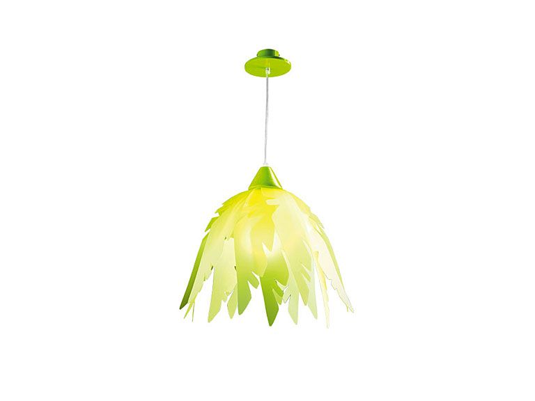 jako o vs haba deckenlampe dschungel lampe kinderzimmer gr n bl tter urwald ebay. Black Bedroom Furniture Sets. Home Design Ideas