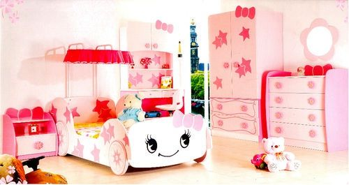 bett little star pink kinderbett m dchen und prinzessin ebay. Black Bedroom Furniture Sets. Home Design Ideas
