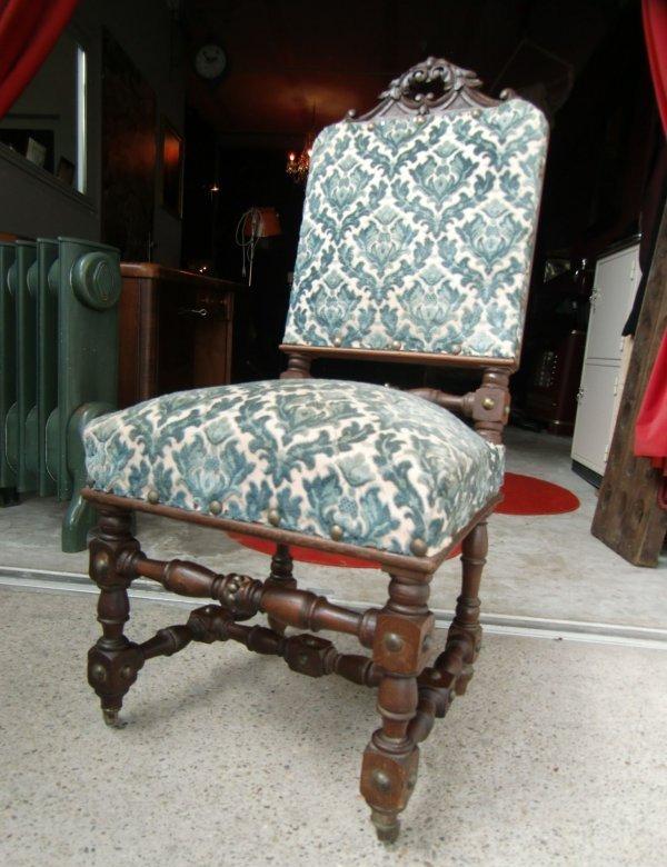6 st hle antik gr nderzeit eiche massiv. Black Bedroom Furniture Sets. Home Design Ideas