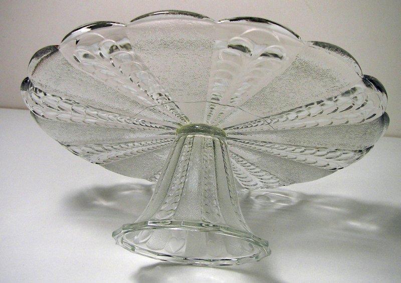 tortenplatte glas mit fu anbietplatte torten platte tafel geschirr haushalt ebay. Black Bedroom Furniture Sets. Home Design Ideas