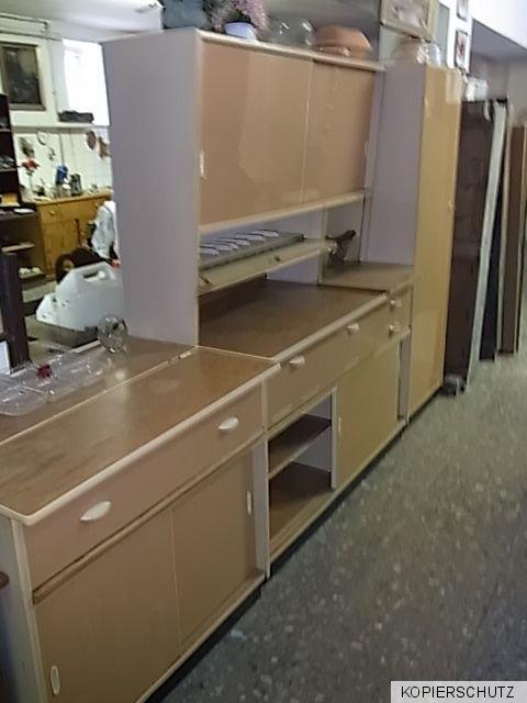 50er jahre k che pastellfarben b ffet wachtisch besenschrank pfeil n rnberger. Black Bedroom Furniture Sets. Home Design Ideas