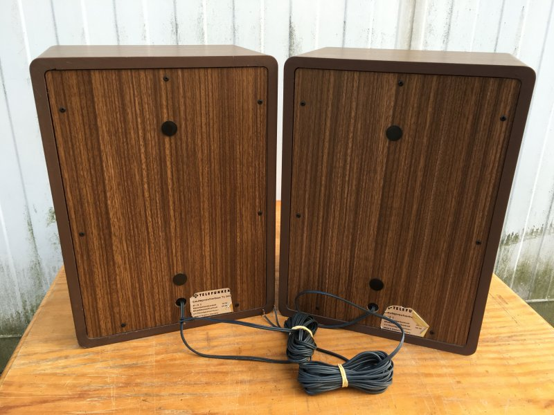 telefunken tl500 speakers telefunken tl 500 lautsprecher. Black Bedroom Furniture Sets. Home Design Ideas