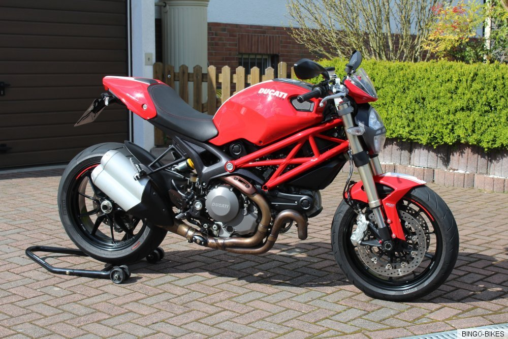 ducati monster 1100 evo abs t v service neu bingo. Black Bedroom Furniture Sets. Home Design Ideas