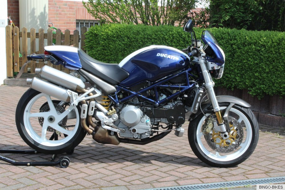 ducati monster s4r t v service neu bingo bikes ebay. Black Bedroom Furniture Sets. Home Design Ideas