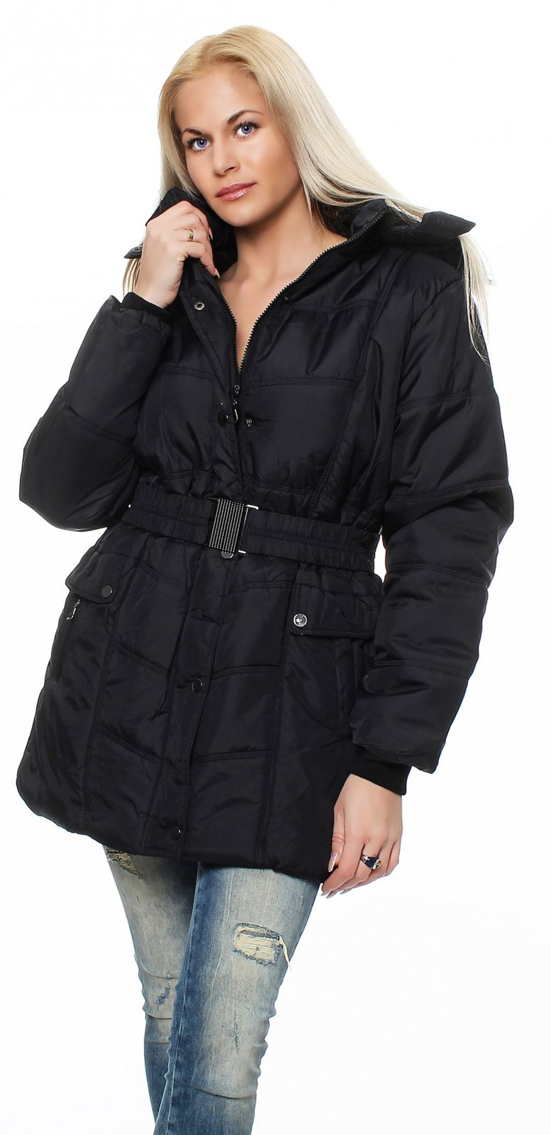 damen jacke parka bergangsjacke winterjacke wintermantel gef ttert gesteppt ebay. Black Bedroom Furniture Sets. Home Design Ideas