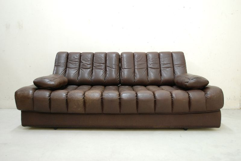 de sede ds 85 vintage daybed sofa ledersofa schlafsofa braun ebay. Black Bedroom Furniture Sets. Home Design Ideas