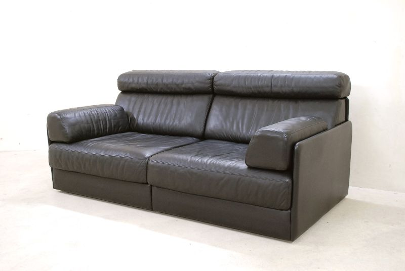 de sede ds 76 77 sofa ledersofa schlafsofa schwarz np 12. Black Bedroom Furniture Sets. Home Design Ideas