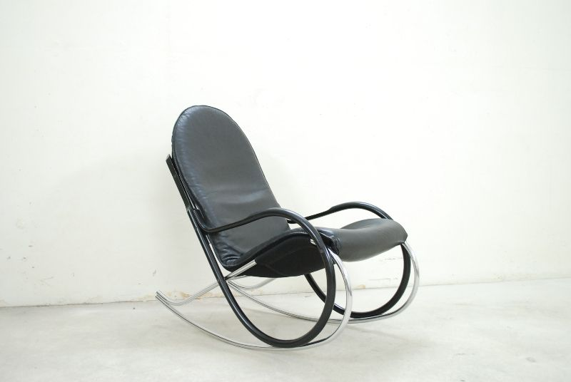 str ssle wk 633 rocking chair nonna schaukelstuhl leder. Black Bedroom Furniture Sets. Home Design Ideas