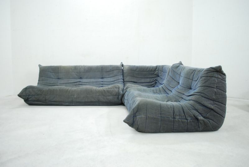 ligne roset togo 70er wohnlandschaft sofa ebay. Black Bedroom Furniture Sets. Home Design Ideas