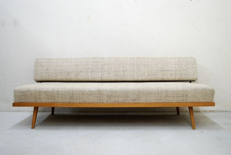 FLORENCE ? KNOLL 60er RAW DAYBED SOFA BEECH | EBay