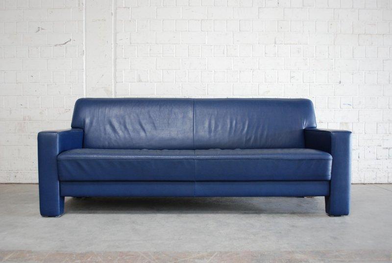 de sede ledersofa blau sofa design. Black Bedroom Furniture Sets. Home Design Ideas