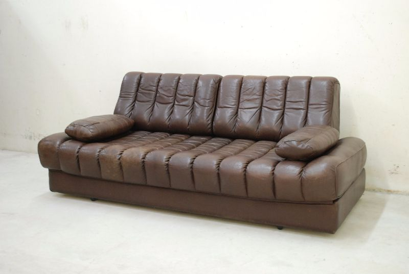 de sede ds 85 vintage daybed sofa ledersofa schlafsofa. Black Bedroom Furniture Sets. Home Design Ideas