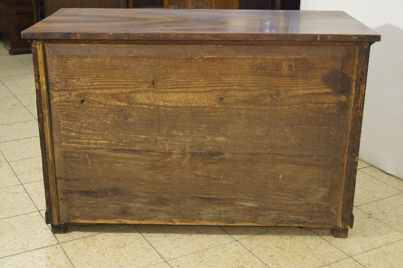 klassische empire biedermeier kommode um 1820 mit s ulen. Black Bedroom Furniture Sets. Home Design Ideas