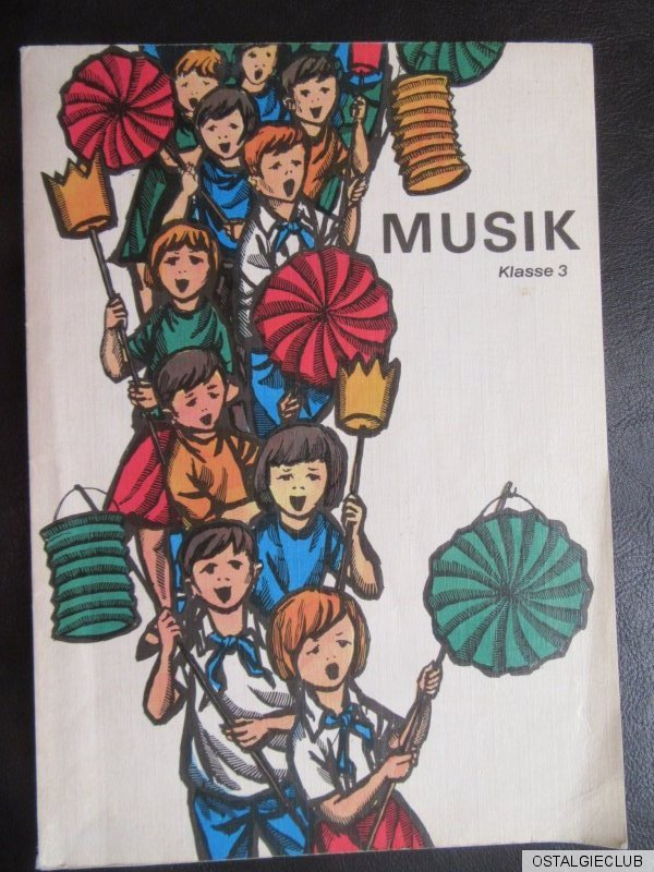 musik klasse 3 ddr schulbuch liederbuch 1977 ebay. Black Bedroom Furniture Sets. Home Design Ideas