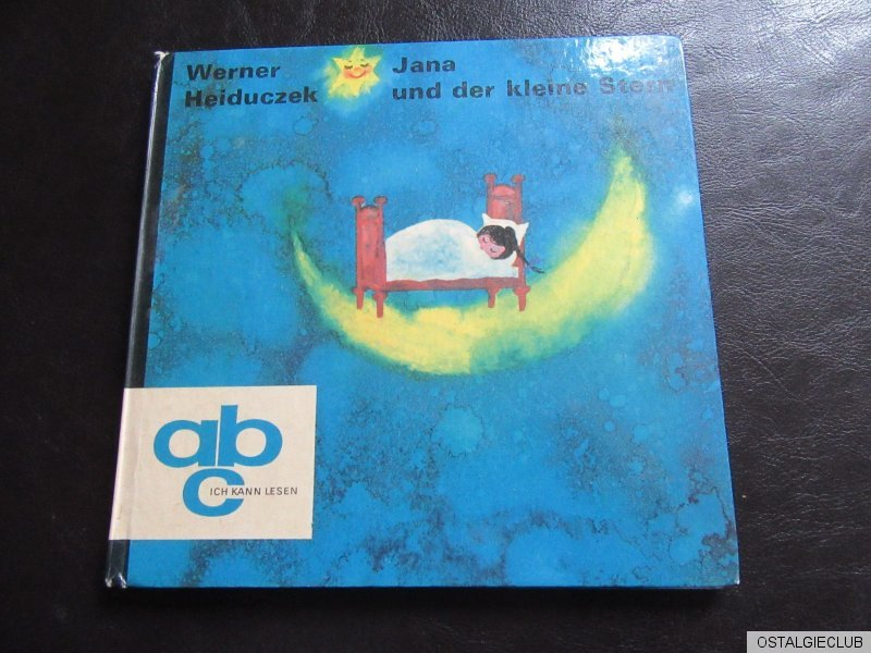 jana und der kleine stern abc ich kann lesen ddr kinderbuch ebay. Black Bedroom Furniture Sets. Home Design Ideas