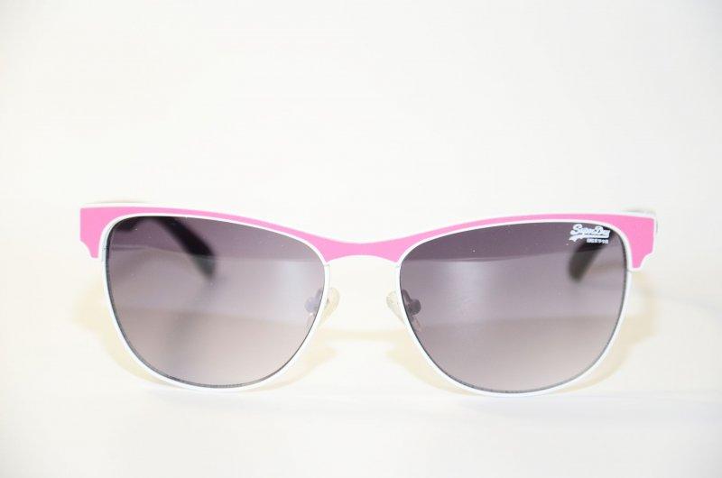 superdry roxanne sds 017 metall sonnenbrille wei pink. Black Bedroom Furniture Sets. Home Design Ideas