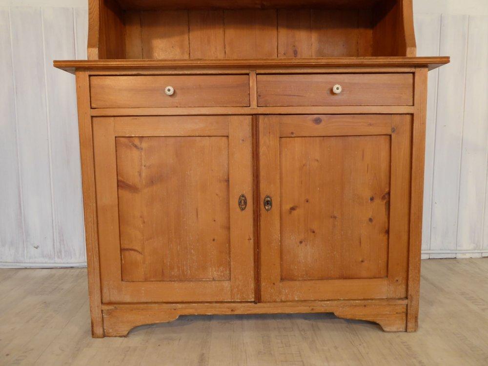 antiker k chenschrank k chenbuffet jugendstil 120cm breit. Black Bedroom Furniture Sets. Home Design Ideas