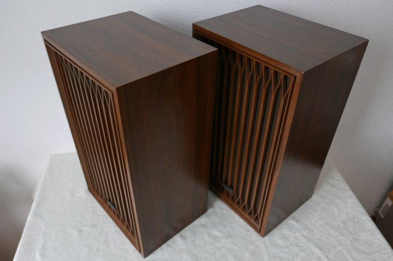 paar kenwood kl 333 lautsprecher boxen vintage rar super. Black Bedroom Furniture Sets. Home Design Ideas