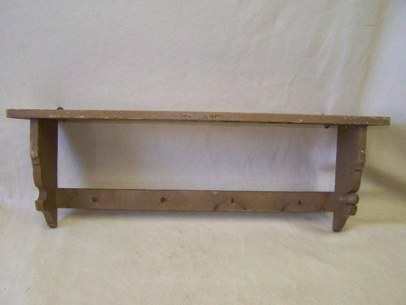 Wandregal Küche Antik ~  Küchenregal, Regal Küche antik, Holz Wandregal, Tuchhalter  eBay