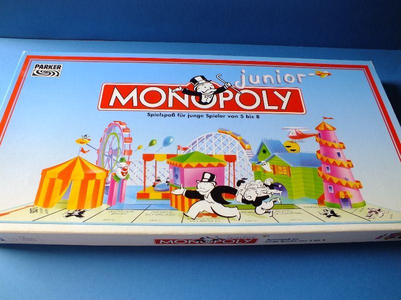 Monopoly Parker Spielanleitung
