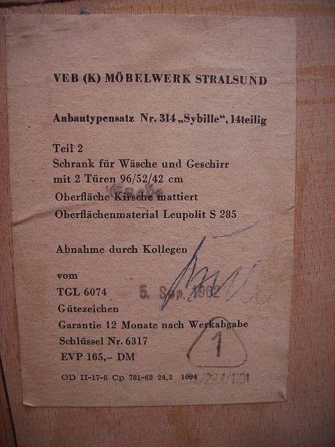 Alte Sehr Seltene DDR Wohnwand Leitersystem Sybille Viele Teile